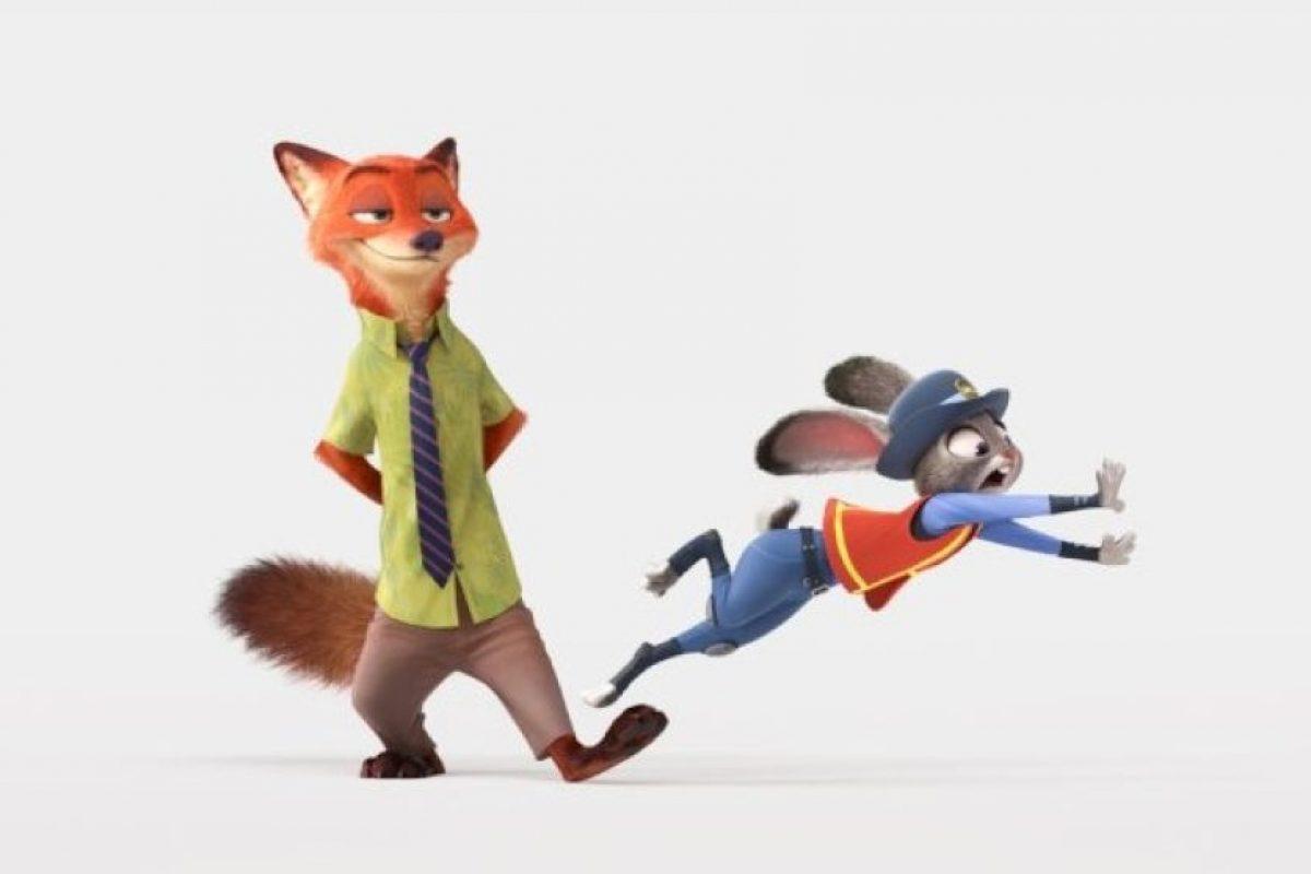 En la cinta, los animales conviven como si fueran personas de nuestra época. Foto:Disney