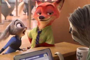 La nueva película de Disney narra la historia de los animales modernos en la ciudad de Zootopia. Foto:Disney