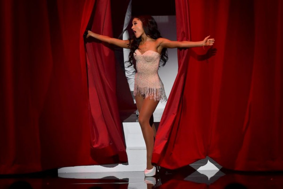 """Ariana Grande interpretó por primera vez en televisión su reciente sencillo """"Focus"""" Foto:Getty Images"""