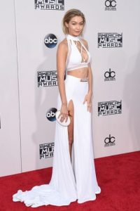 Fue una de las preferidas por su outfit. Foto:Getty Images