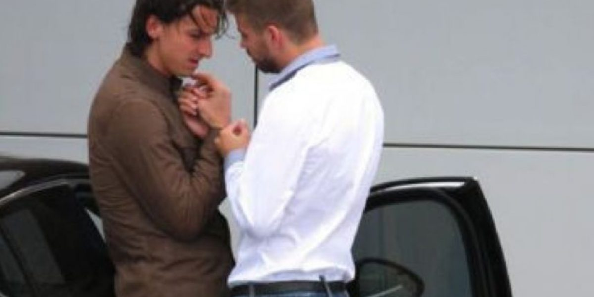 Gerard Piqué cuenta su versión de la polémica foto junto a Zlatan Ibrahimovic