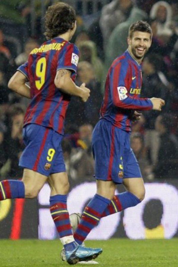 Compartieron momentos en las filas del Barcelona de 2009 a 2010 Foto:Getty Images
