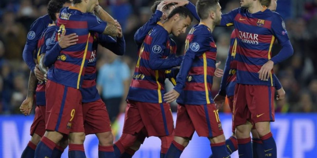 El Barcelona se vuelve una aplanadora y golea a la Roma