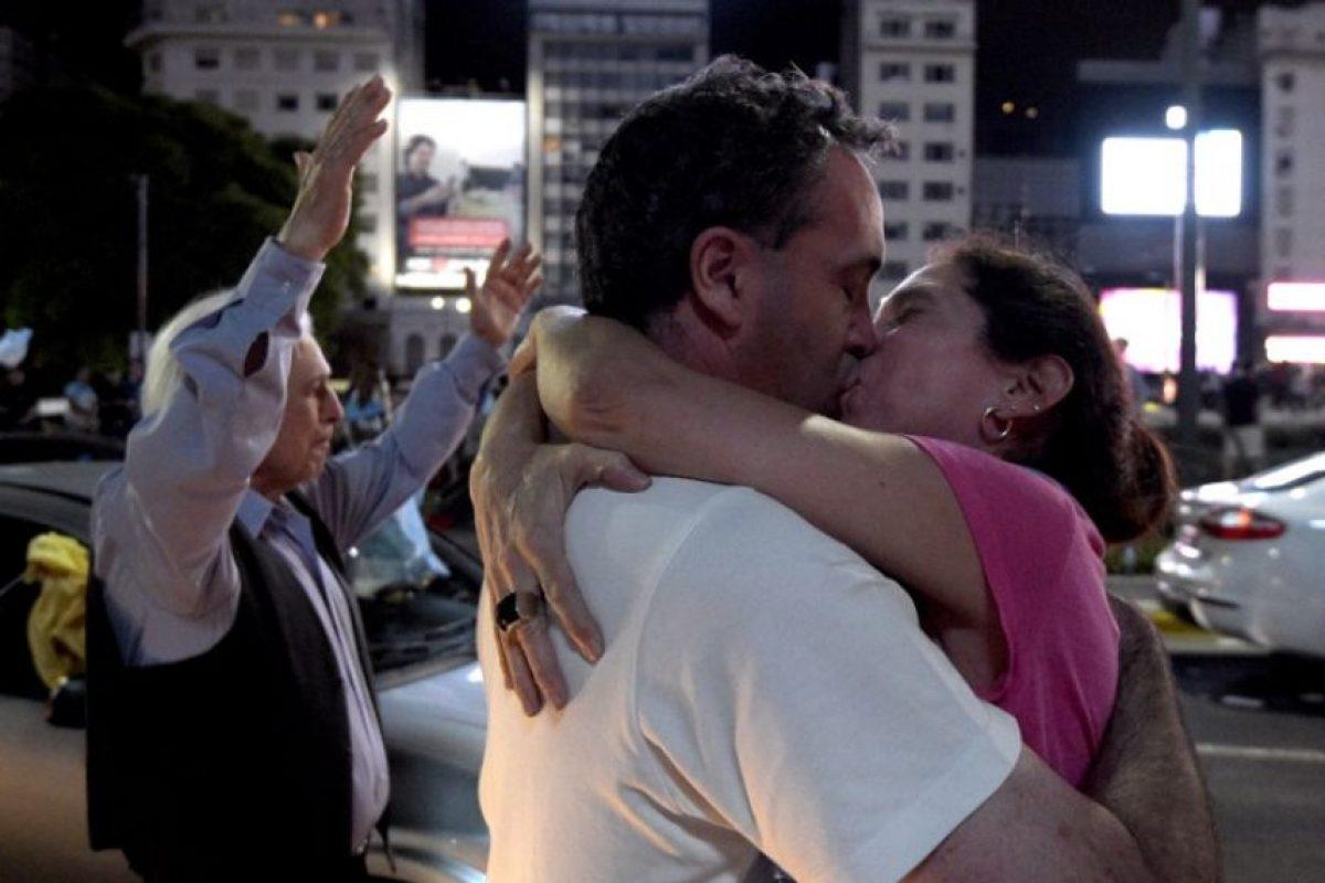 Sobre la oposición: Foto:AFP
