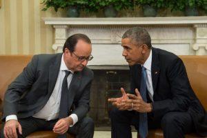 El presidente francés Francois Hollande está reuniendo apoyo para combatir a ISIS. Foto:AFP
