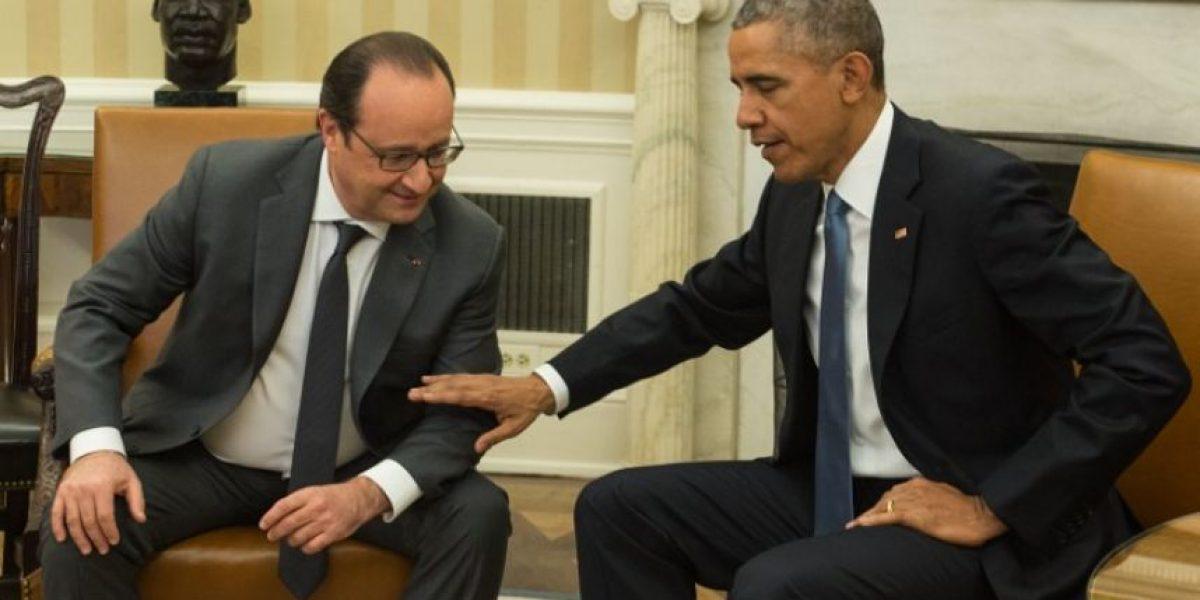 Obama y Hollande combinarán fuerzas para atacar a EI