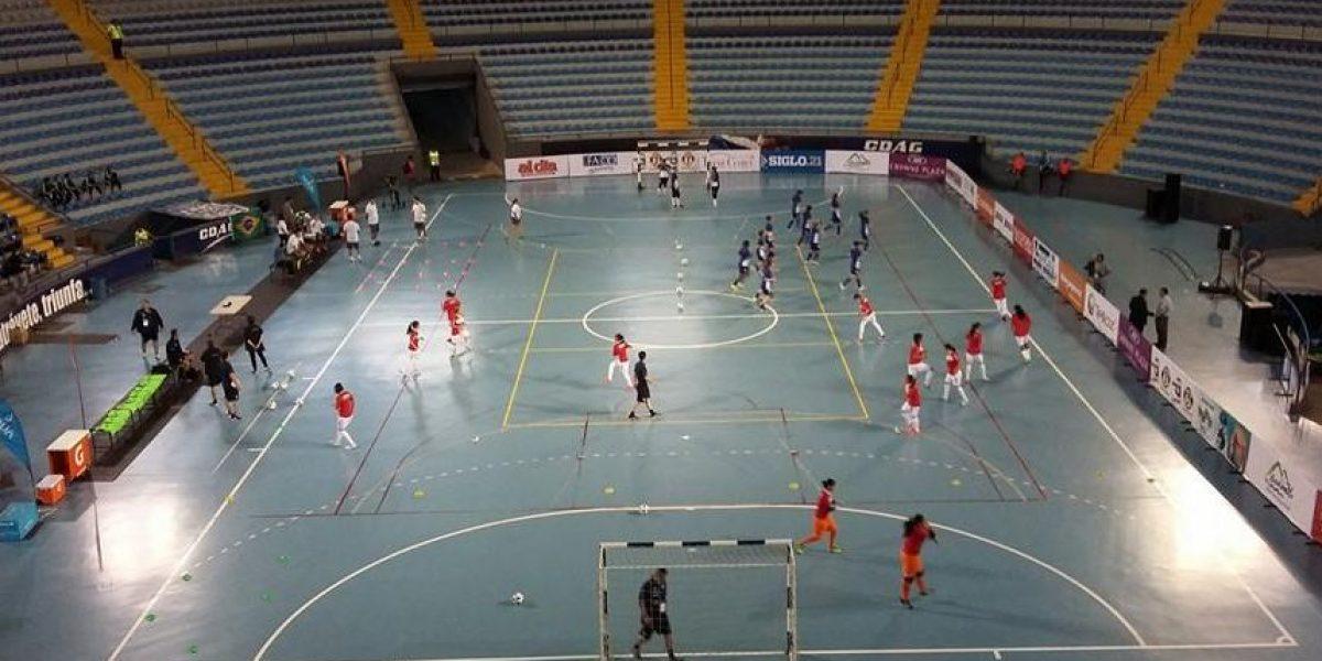 Guatemala debuta esta noche ante Japón en el Internacional Femenino de Futsal