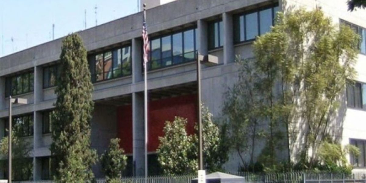 Embajada de Estados Unidos cerrará este jueves por el Día de Acción de Gracias