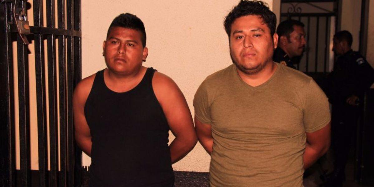 Capturados por robar leche y desodorantes