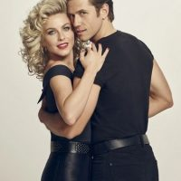 Julianne Hough y Aaron Tveit Foto: Facebook/Grease