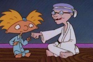 """6. A la divertida y extraña abuela de """"Arnold"""", que sabía desde cocinar los mejores panqueques hasta karate. Foto:Nickelodeon"""