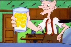 """7. Los consejos del abuelo """"Phil"""", quien podía levantar hasta 100 kilos a sus 81 años. Foto:Nickelodeon"""