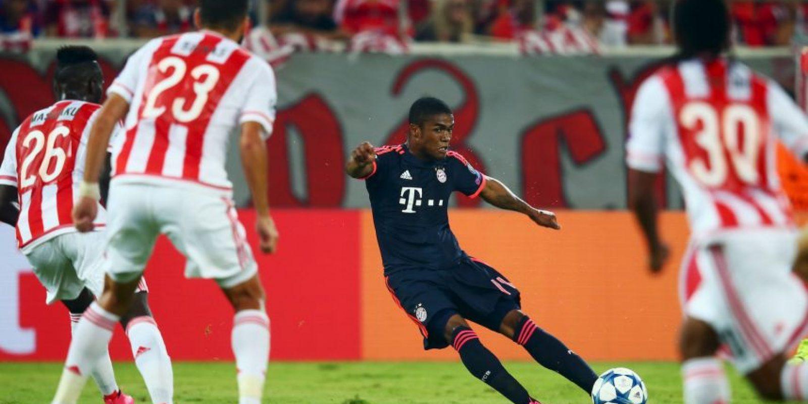 En el partido de la primera vuelta Bayern obtuvo los tres puntos, luego de ganar 3-0 a los griegos en su casa. Foto:Getty Images