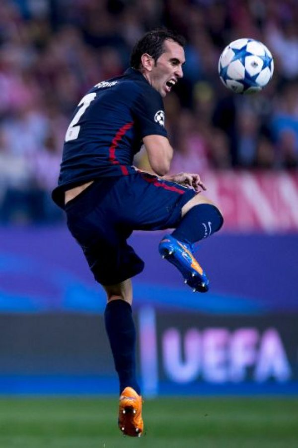 Diego Godín (Atlético de Madrid) Foto: Getty Images