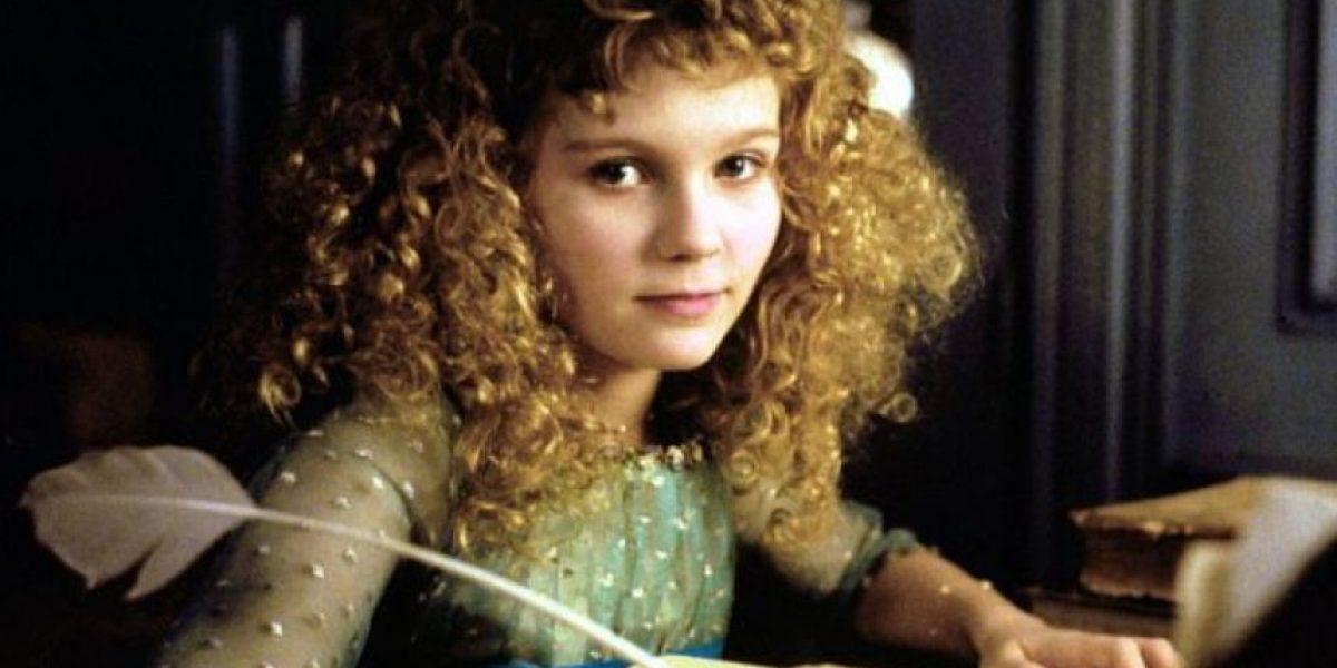 Fotos: Así ha cambiado Kirsten Dunst, la actriz infantil más exitosa de los 90