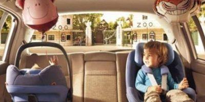 5. En algunos lugares, incluso, es ilegal dejar a los pequeños solos en el auto, sin la supervisión de un adulto responsable. Foto:Vía Tumblr