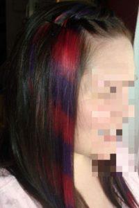 El color se desvanece tras cada lavada. Sí, es de alto mantenimiento porque no es como un tinte permanente. Este es vegano y no tiene componentes que dañan tanto al pelo. Foto:vía HairFails.com