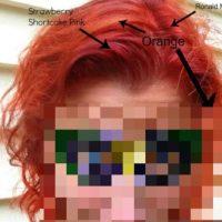1. Si tienen el cabello teñido previamente, no funcionará. Es decir, si tienen un negro Cleopatra y quieren ser como Lady Gaga quizás lo que consigan es quedar como uno de esos muñecos Trolls de pelo anaranjado. No pierdan su tiempo. Foto:vía HairFails.com