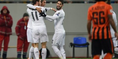 El Real Madrid sufre antes de imponerse al Shakhtar en Ucrania