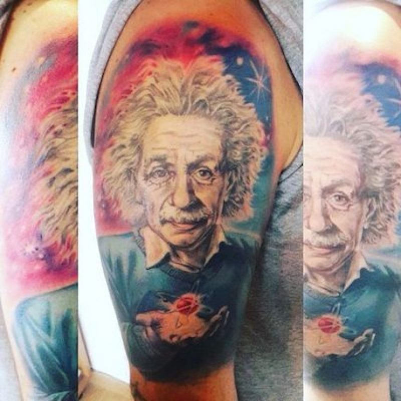 Foto: Instagram.com/explore/tags/einstein/