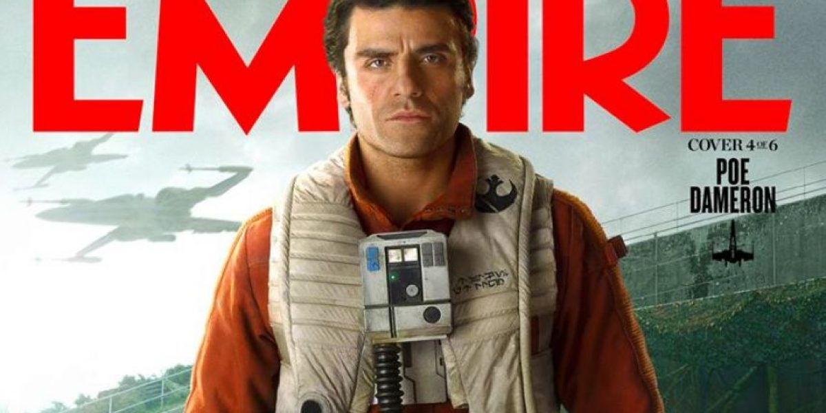 El guatemalteco Óscar Isaac acapara una de estas portadas exclusivas de Star Wars