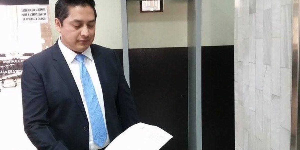 Baldetti solicita a juez revisar la medida de coerción que la mantiene