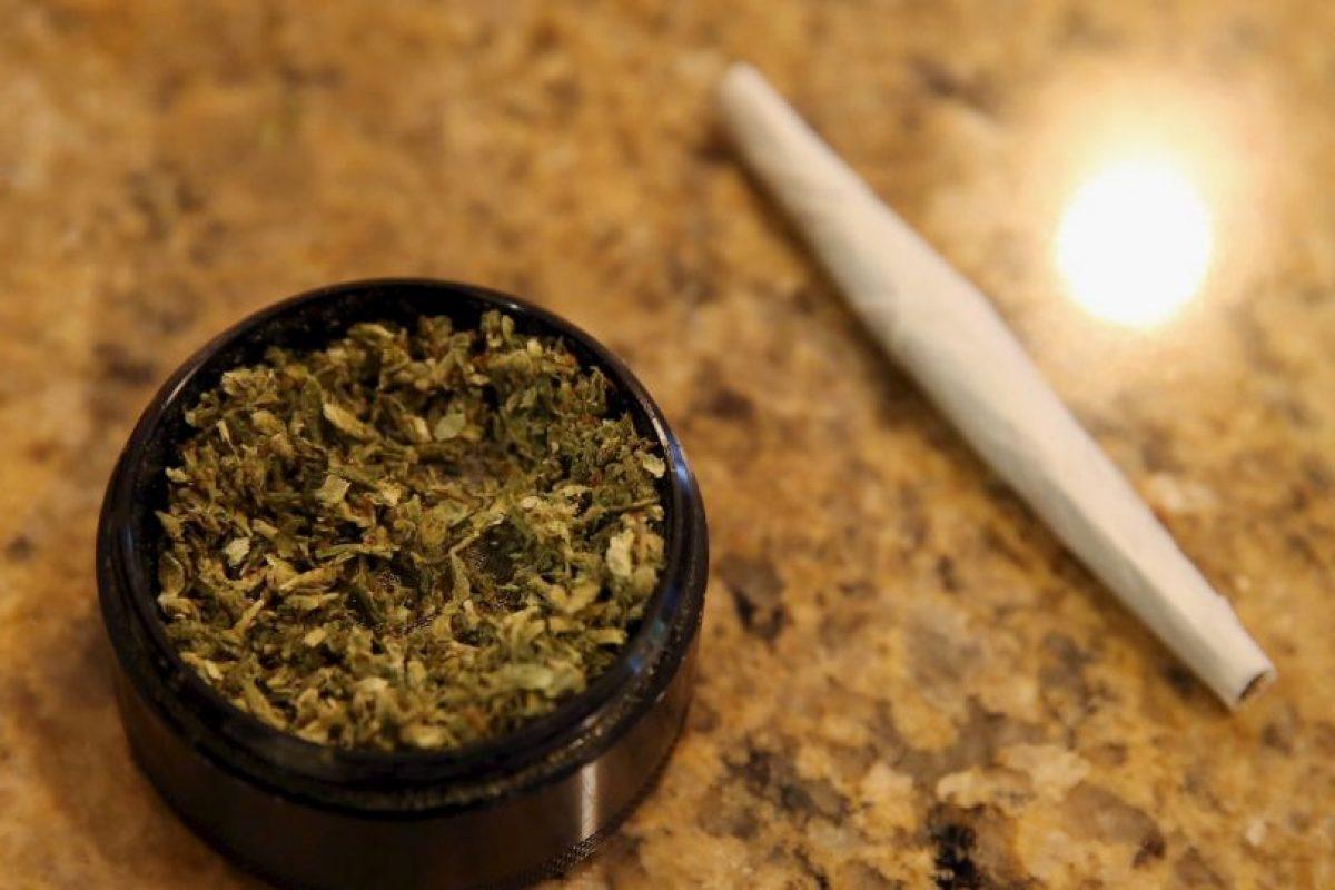 El cigarro en el sexto, justo después de la cocaína. Foto:Getty Images