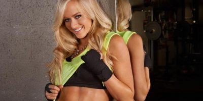 Fotos: Así lucen las divas de la WWE como guapas boxeadoras
