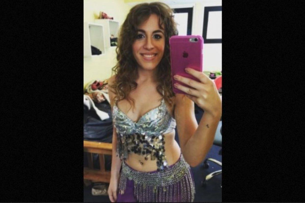 Con este look imitó a la colombiana. Foto:Instagram/laura_esquivel