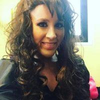 Laura en la piel de Mariah Carey Foto:Instagram/laura_esquivel