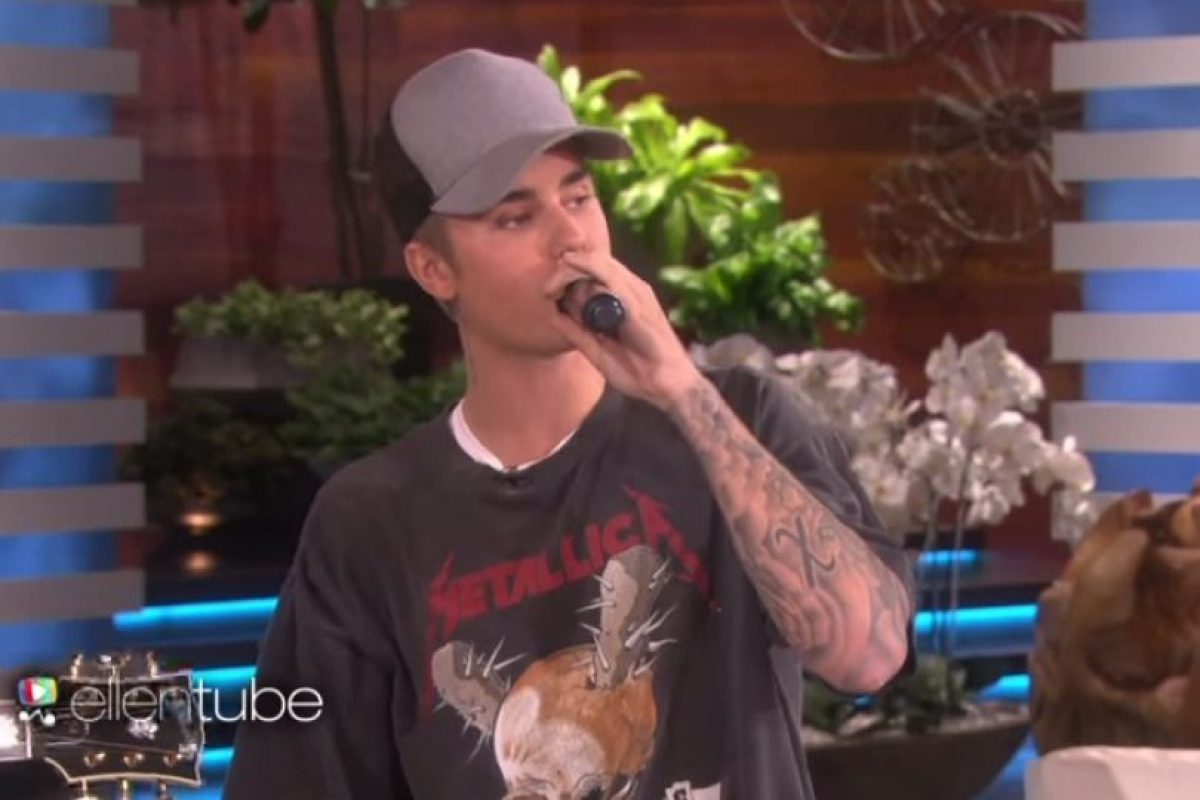 Sin embargo, parece ser que Justin Bieber no prestó atención a las críticas. Foto:YouTube/TheEllenShow