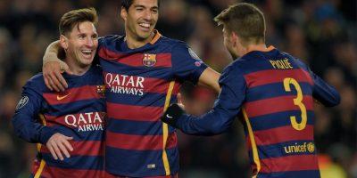 Piqué agradece a Messi y en broma reclama a Munir su