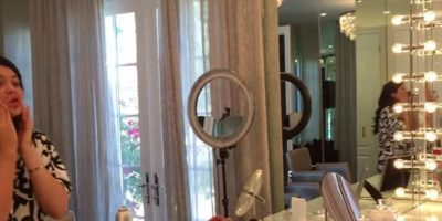 Posteriormente, utiliza un lápiz para cejas de Anastasia Beverly Hills Foto:www.thekyliejenner.com