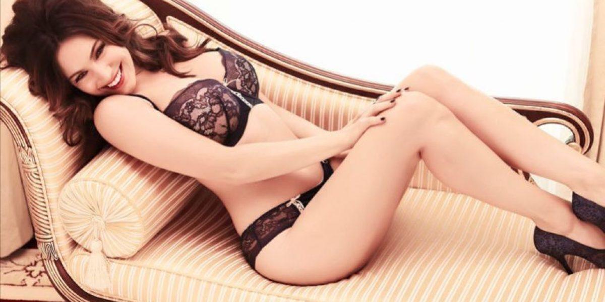FOTOS. Un error con su vestido provocó que esta modelo enseñara parte de su ropa íntima