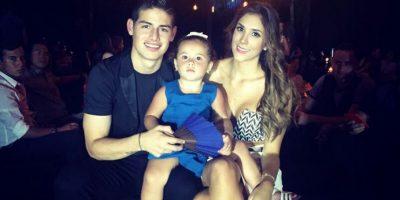 La tierna hija de James ¿será la próxima Shakira?