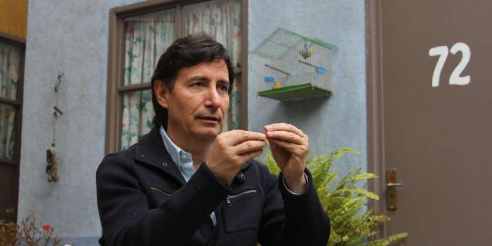 Roberto Gómez Fernández sabe del legado de su padre. Foto:Nicolás Corte