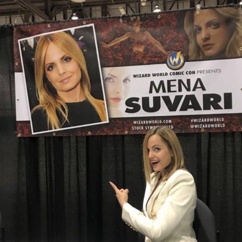 """Su última aparición relevante fue en """"American Horror Story"""". Foto:vía Facebook/Mena Suvari"""