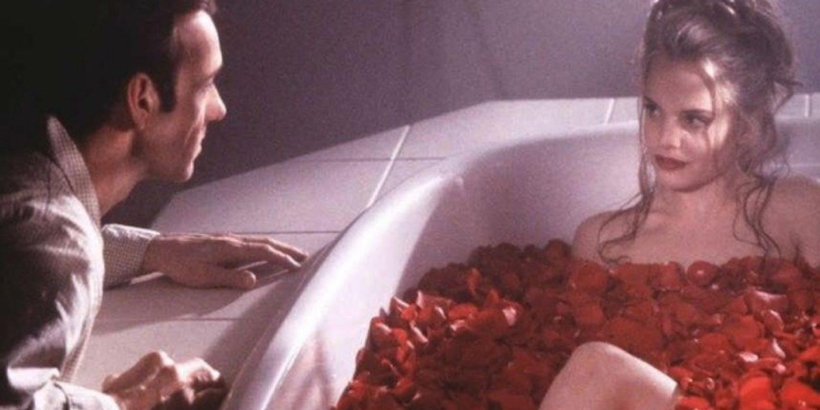 """Se hizo famosa por ser el sueño pecaminoso de Kevin Spacey en """"Belleza Americana"""". Foto:vía Dreamworks"""