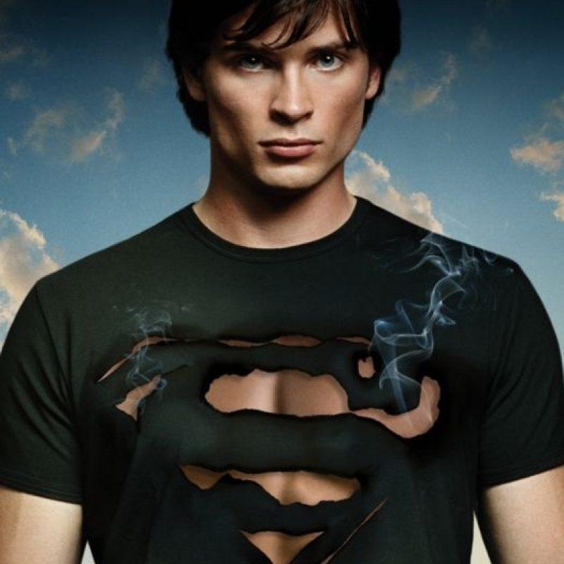 """Tom Welling era lo que toda adolescente y preadolescente quería ver en """"Smallville"""". Bueno, a él y a Lex Luthor. Foto:vía The CW"""