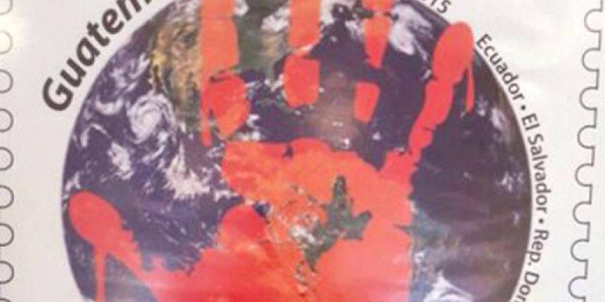Con un sello postal conmemoran el Día de la No Violencia contra la Mujer
