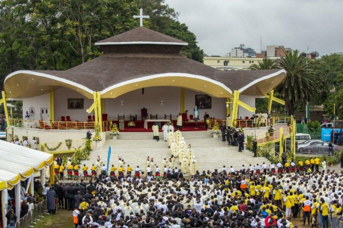 Más de tres mil personas estuvieron presentes. Foto:AFP