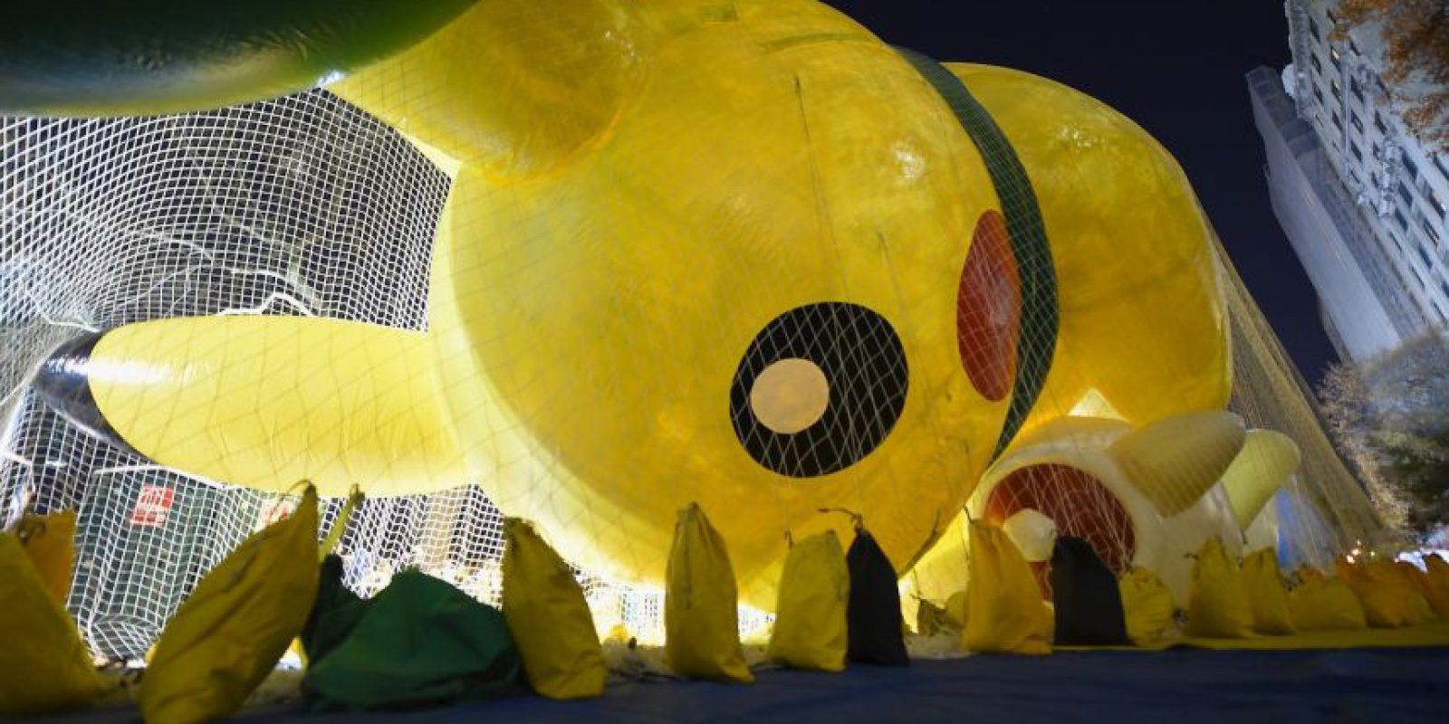"""Además de clásicos de los años 90 como """"Pikachu"""" de Pokemón Foto: AFP"""