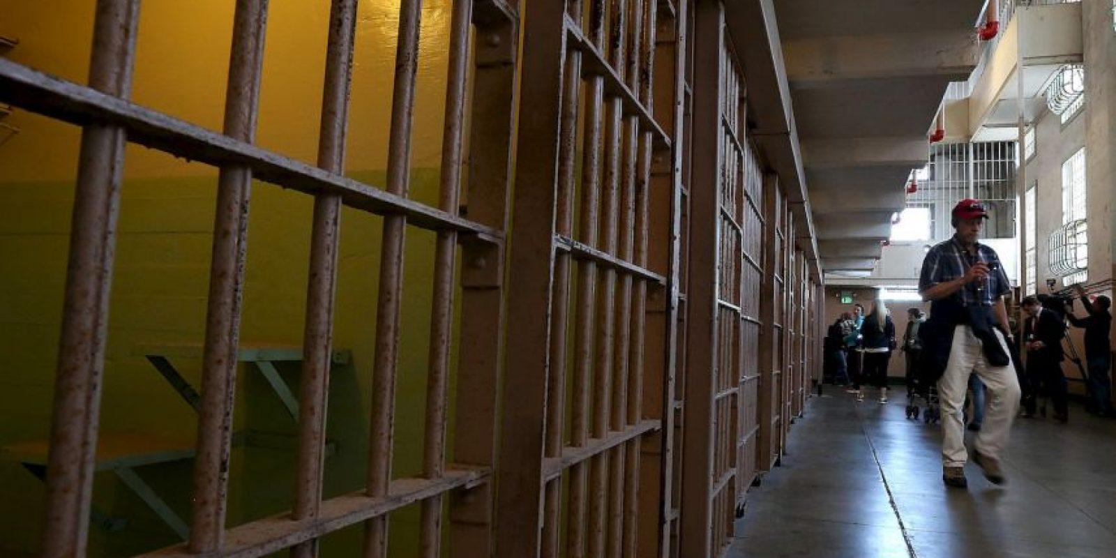 5. Según la organización The Sentencing Project, uno de cada nueve presos en ese país cumple una sentencia de cadena perpetua. Foto:Getty Images