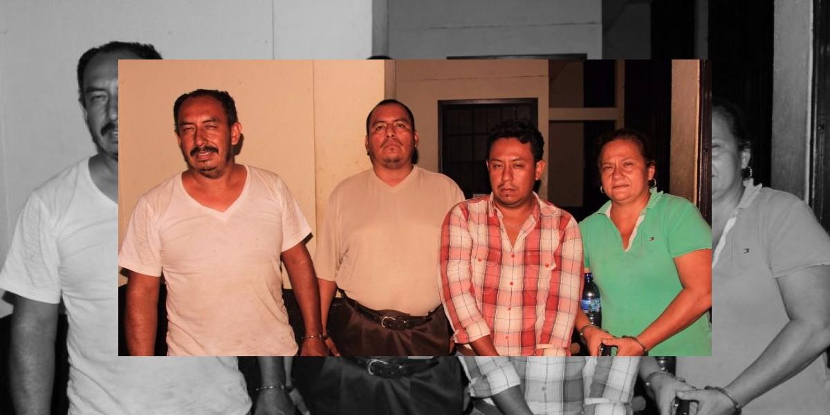 Cuatro capturados por quema de municipalidad de Siquinalá durante elecciones