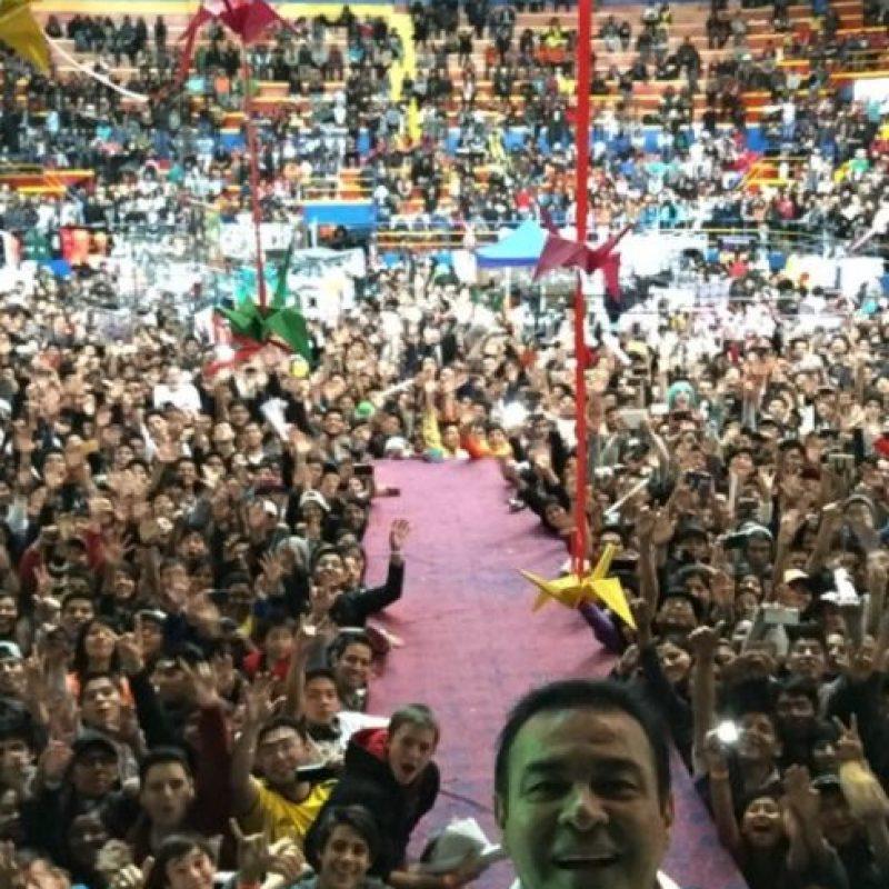 Cuenta con fans de todas partes de Latinoamérica. Foto:vía twitter.com/ccp_mario