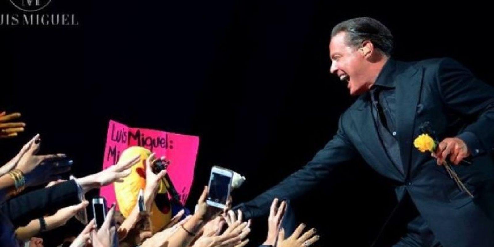 El 19 de noviembre, Luis Miguel canceló su segunda presentación en la Ciudad de México, 20 minutos después de haber iniciado. Foto:Facebook/LuisMiguel