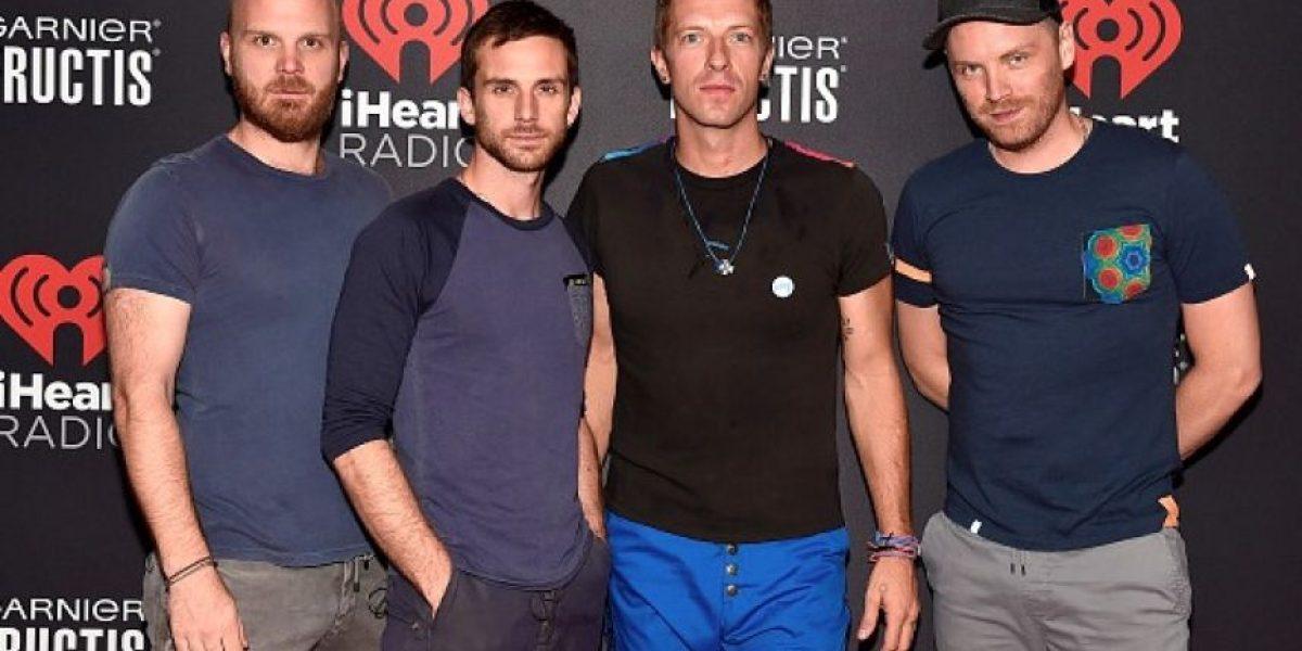 Líder de Coldplay admite que tuvo un