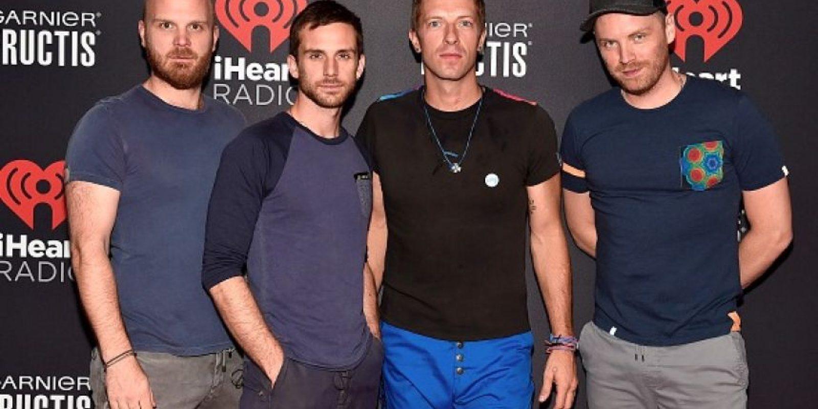 """El líder de Coldplay se sintió """"confundido"""" ante la presencia de un integrante de One Direction Foto:Getty Images"""