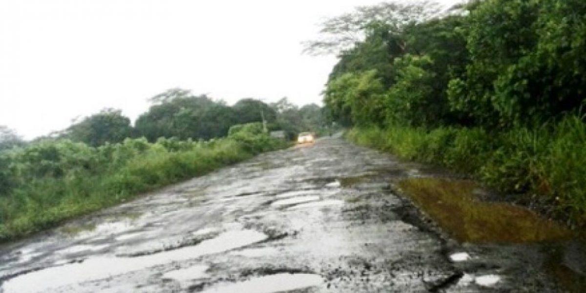 Productores se quejan del acelerado deterioro de carreteras