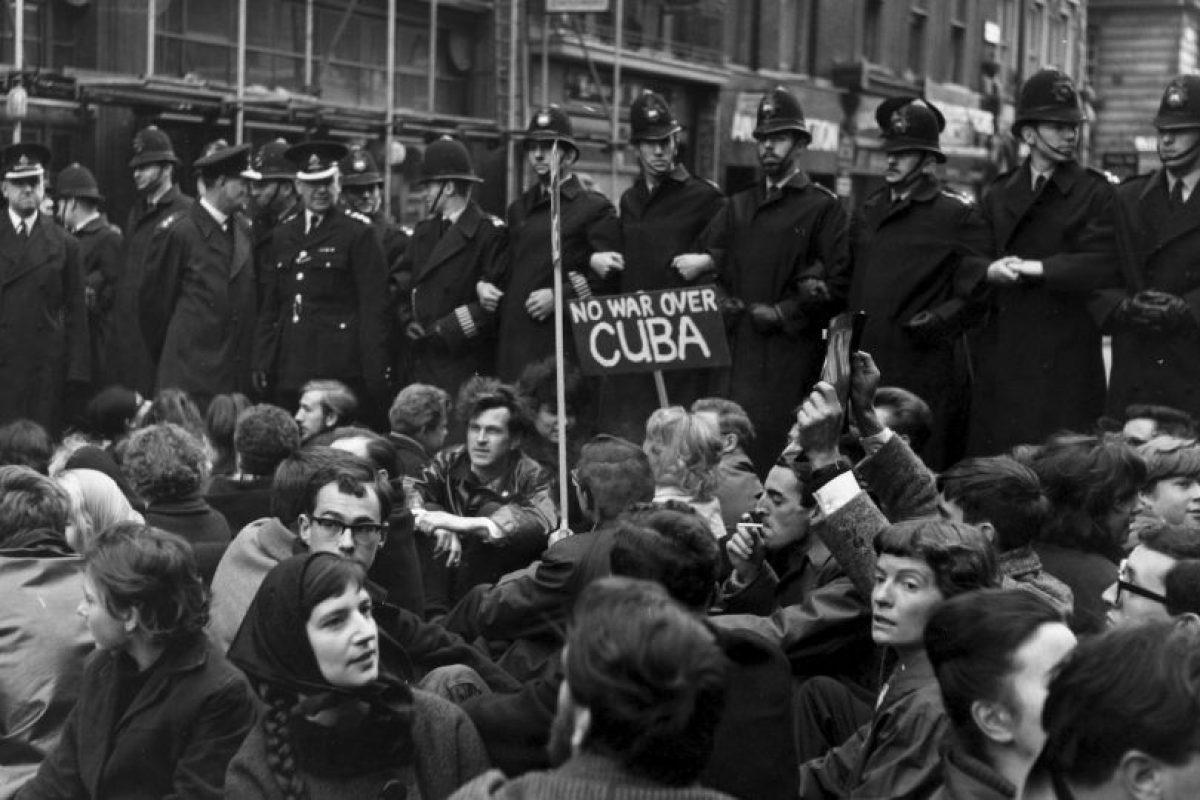 Fue una de las crisis que enfrentó el breve gobierno de John F. Kennedy. Foto:Getty Images